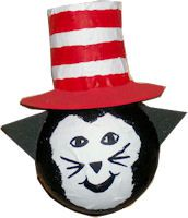 Light Bulb Cat-In-The-Hat Craft