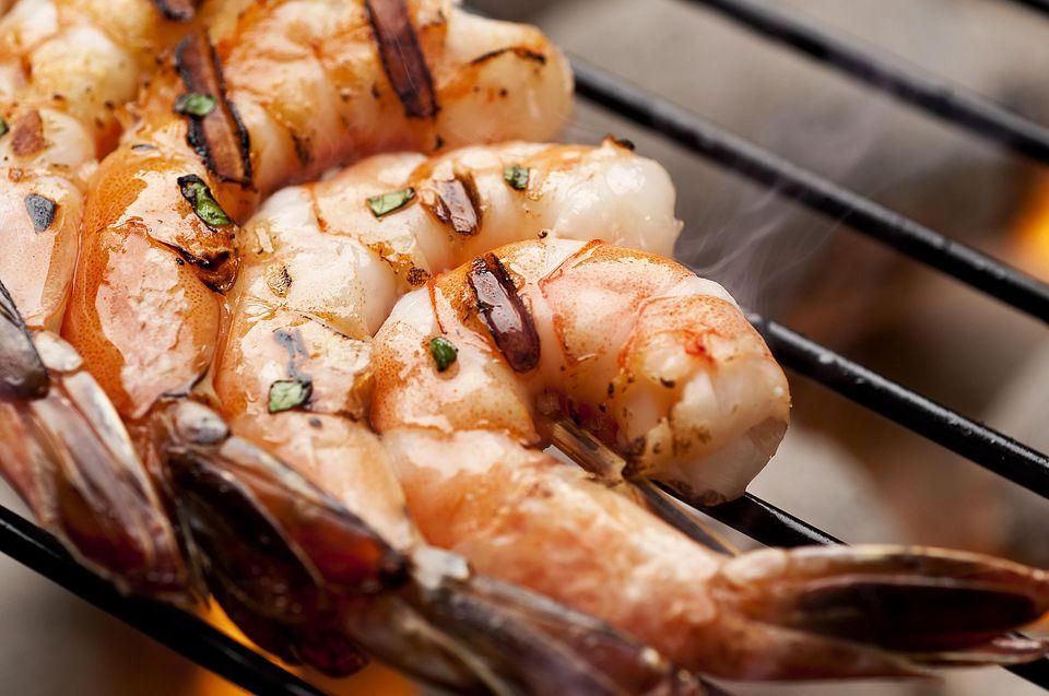Margarita Shrimp on the Grill