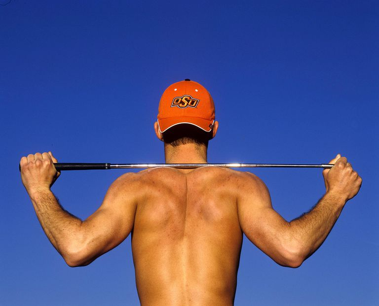 Weight training can be beneficial to golfers so long as the regimen is specific to the golfer's needs