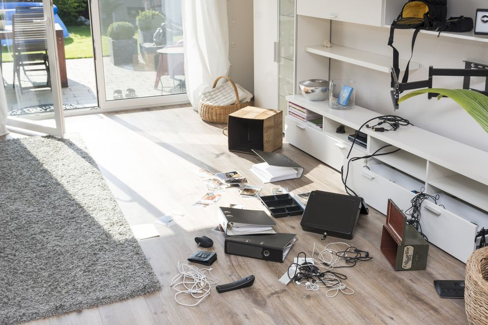 When to get rid of clutter