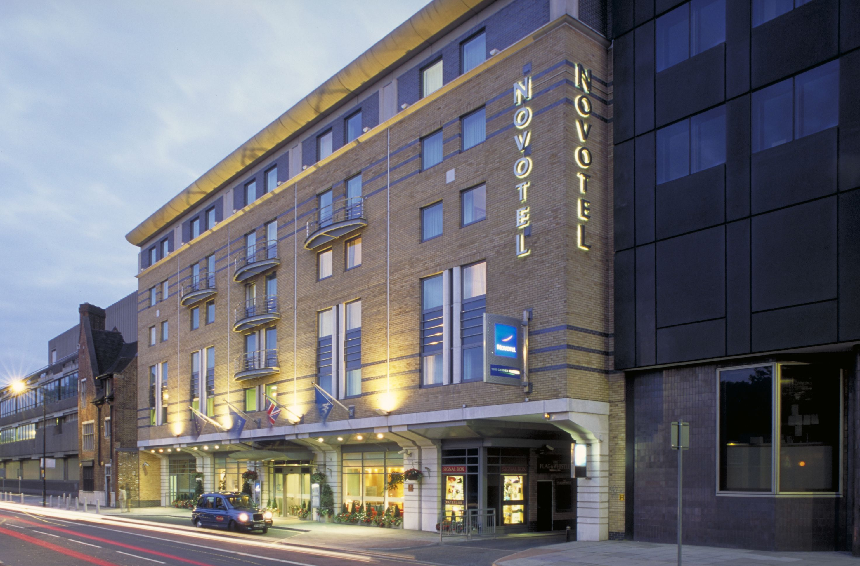 Novotel london waterloo hotel review for Hotel w londres