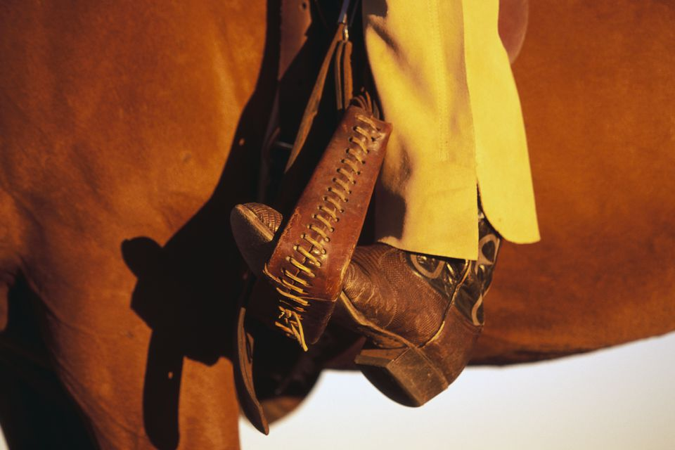 Cowboy Boot in Stirrup