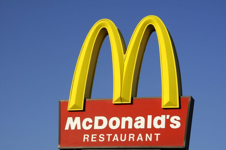 France, Mc Donald's sign