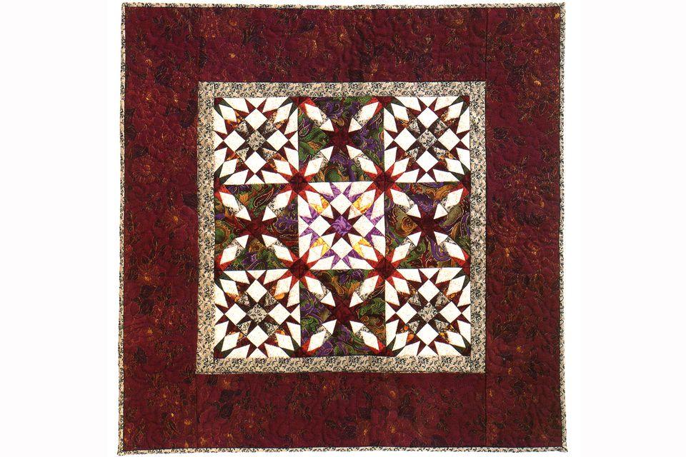 Little Oddfellows Star Quilt Pattern