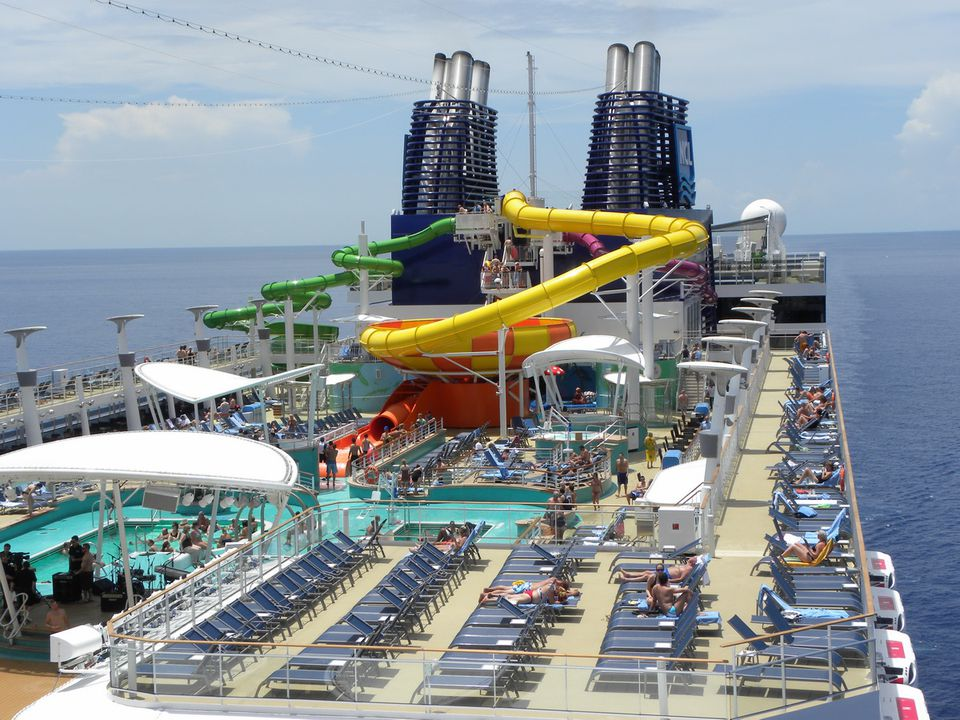 Norwegian Epic Exteriors And Outdoor Decks