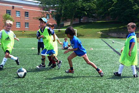 Kids having fun at day camp!