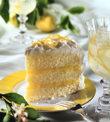 Moroccan Lemon Yogurt Cake