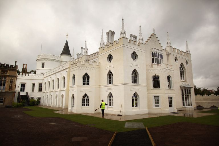 Eighteenth Century Strawberry Hill Gothic Revival Home Of Sir Horace Walpole
