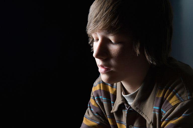 Troubled Teen Boy