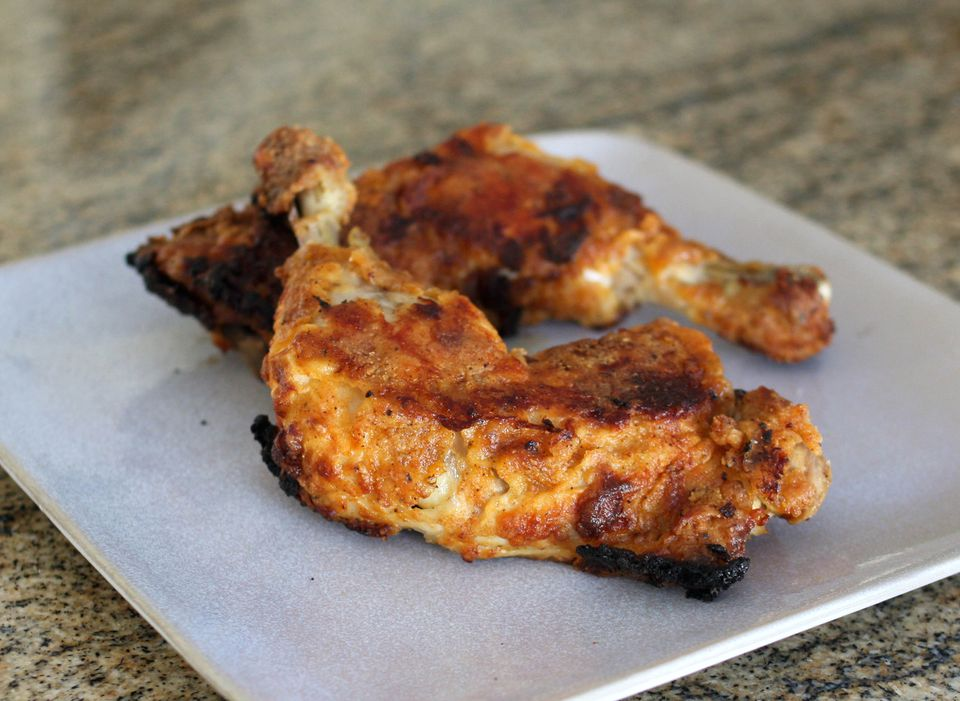 Oven Fried Whole Chicken Legs