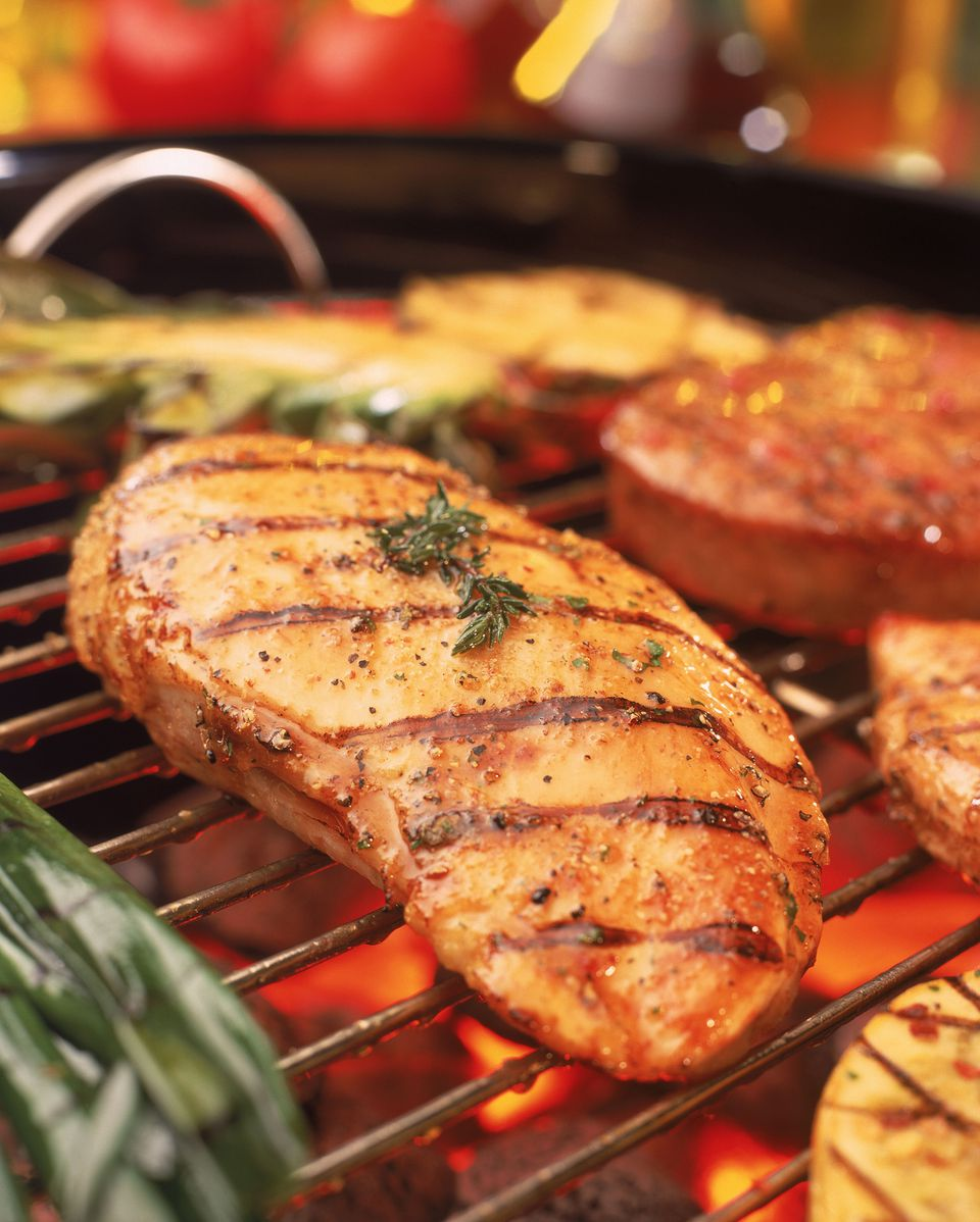 Grilled Tarragon Chicken