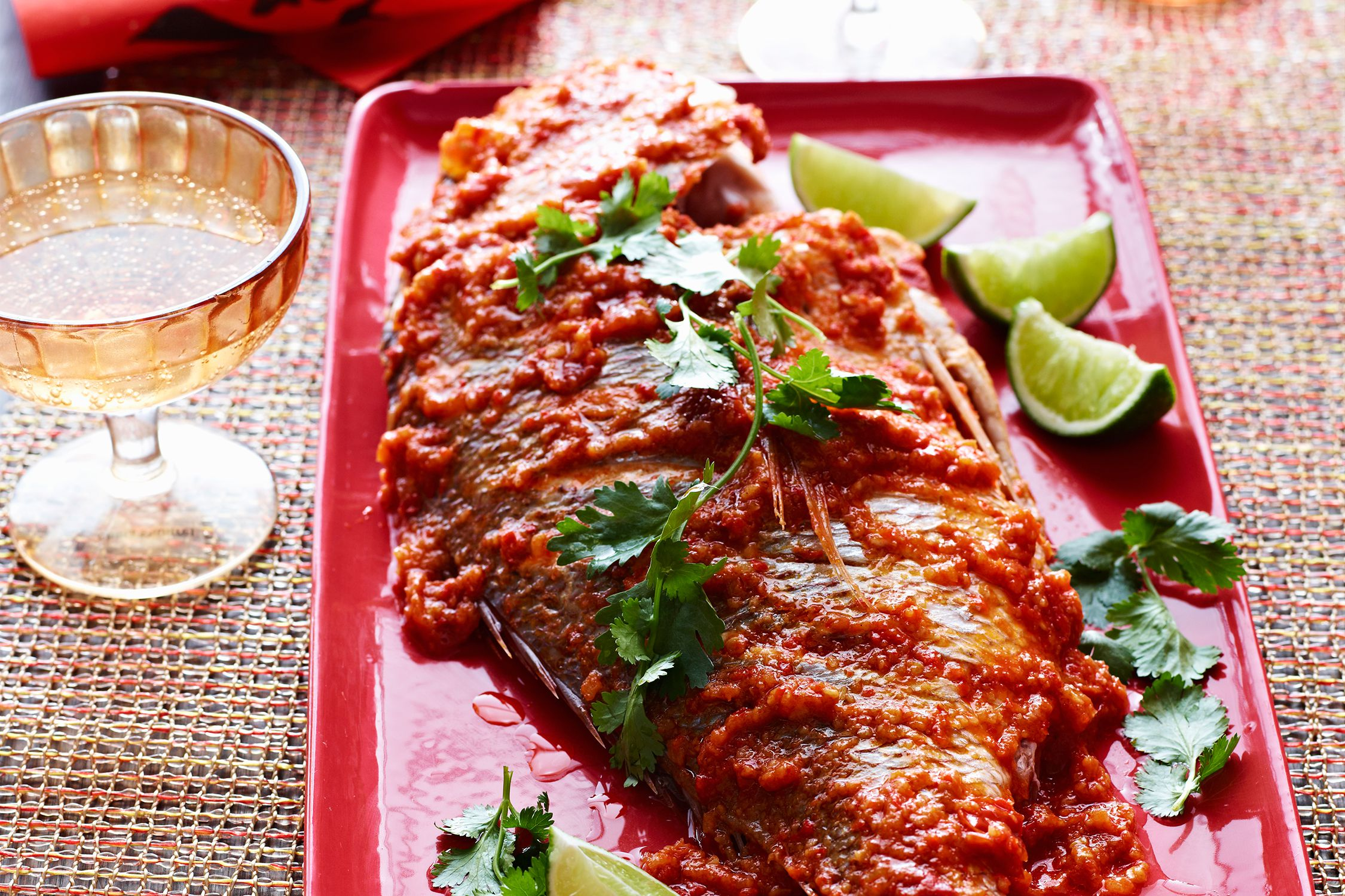Recipe how to make fried fish with sambal sauce for How to make fish fry