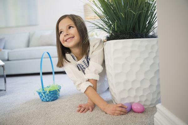 Easter party games - egg hunt