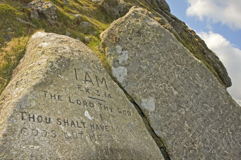 Modern Ten Commandments