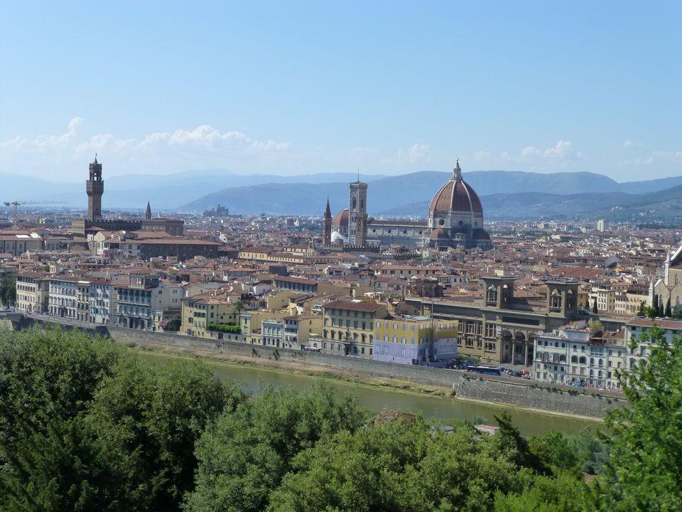 Italian Florence: Carnival Breeze Mediterranean Cruise Travel Journal