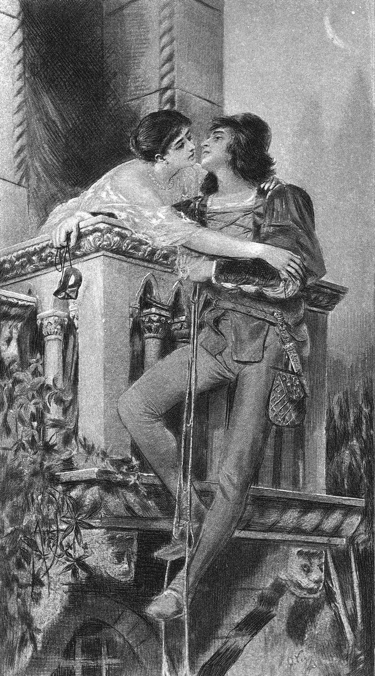 Romeo and Juliet Balcony Scene Getty
