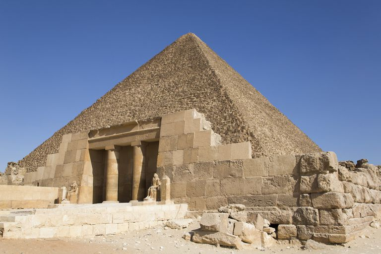 A Mastaba in Giza, Egypt