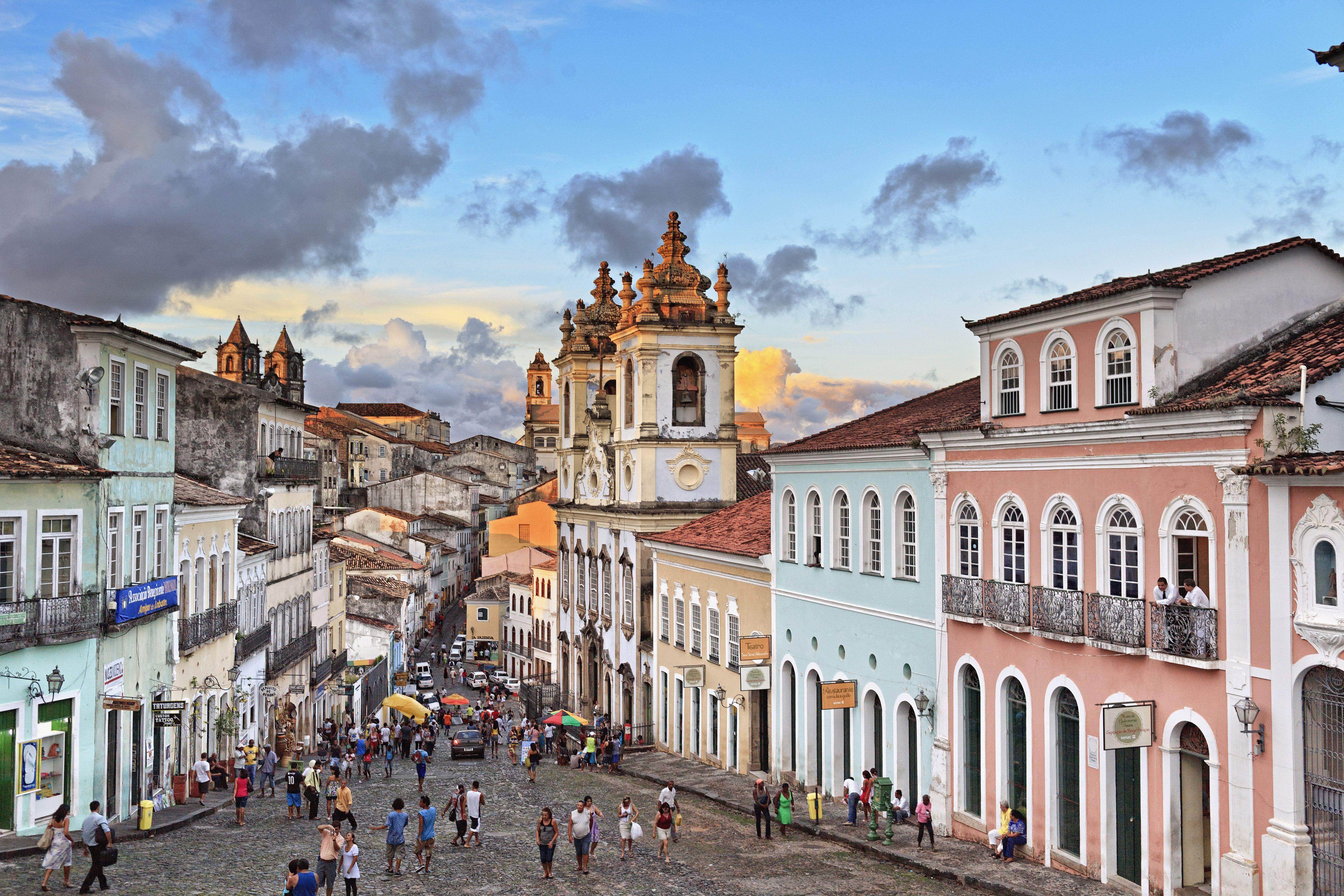 Pelourinho Salvador A City Within A City