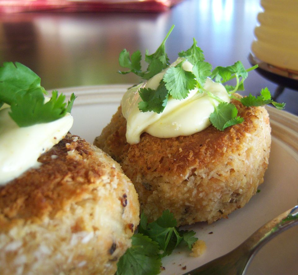 Gluten-Free Salmon Croquette Recipe Image Teri Gruss