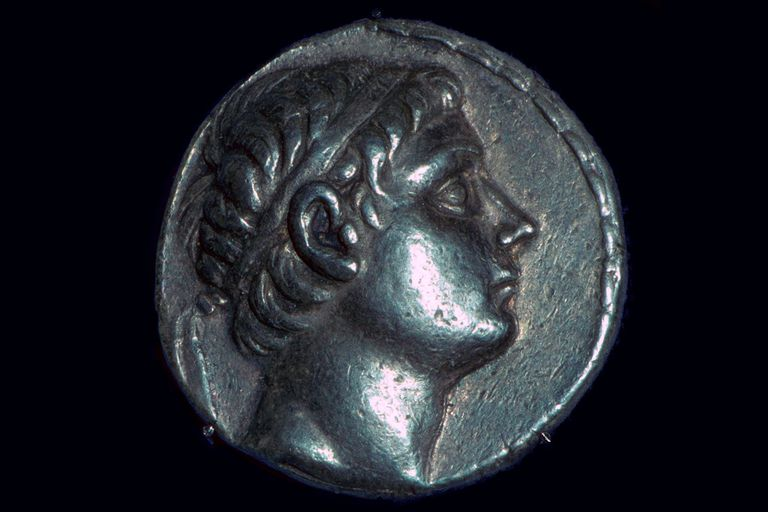 Tetradrachm of King Antiochus III the Great of Syria
