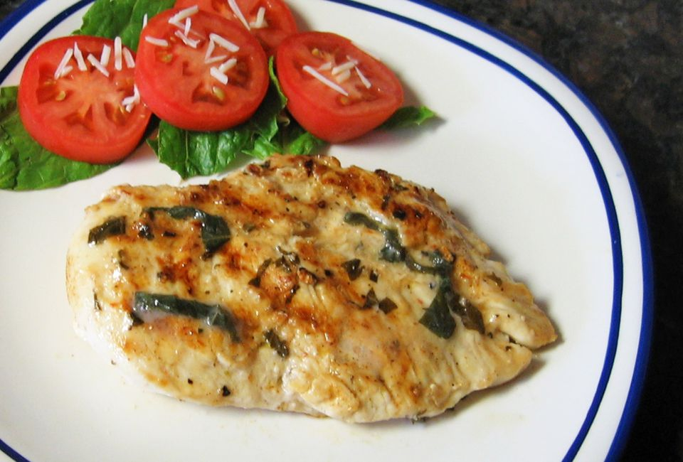 Lemon Basil Chicken Breasts