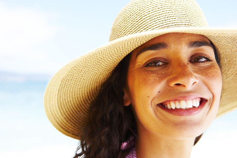Sunspots on the face can be fixed