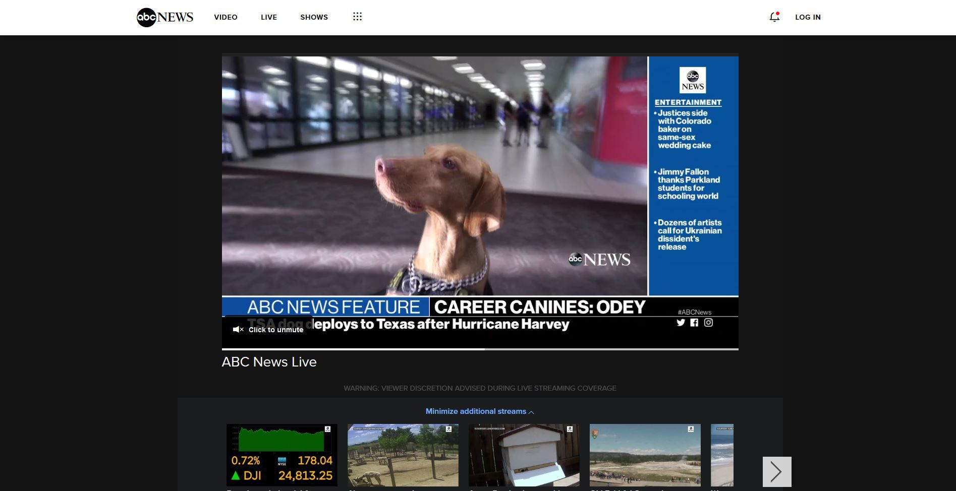 how to watch abc news online