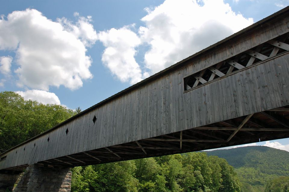 Picture of Vermont Covered Bridge - West Dummerston Covered Bridge