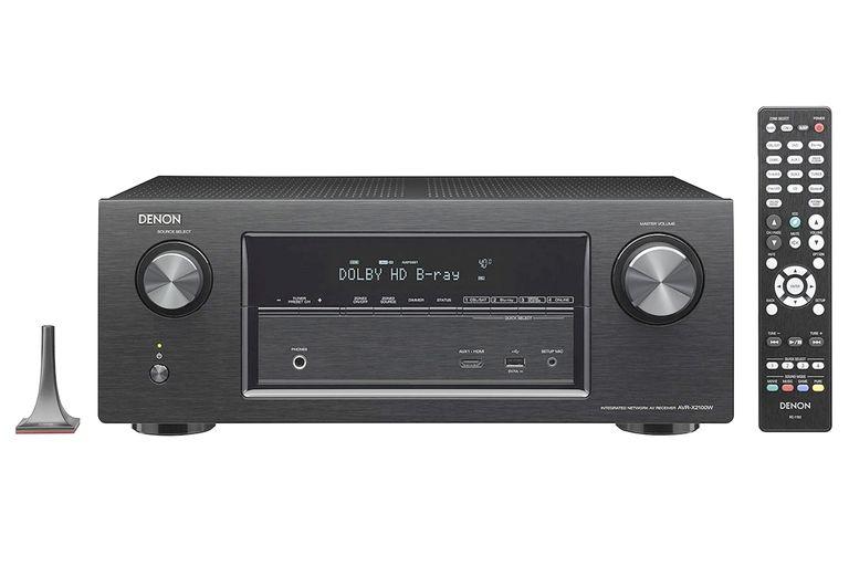 Denon AVR-X2100W Home Theater Receiver with Remote