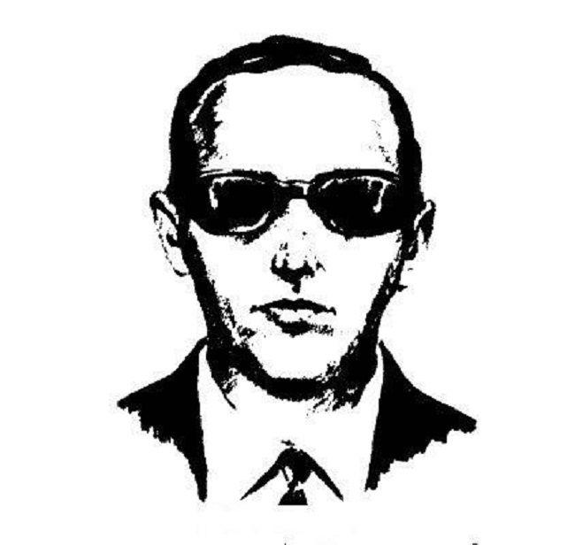 FBI Composite Sketch of D. B. Cooper