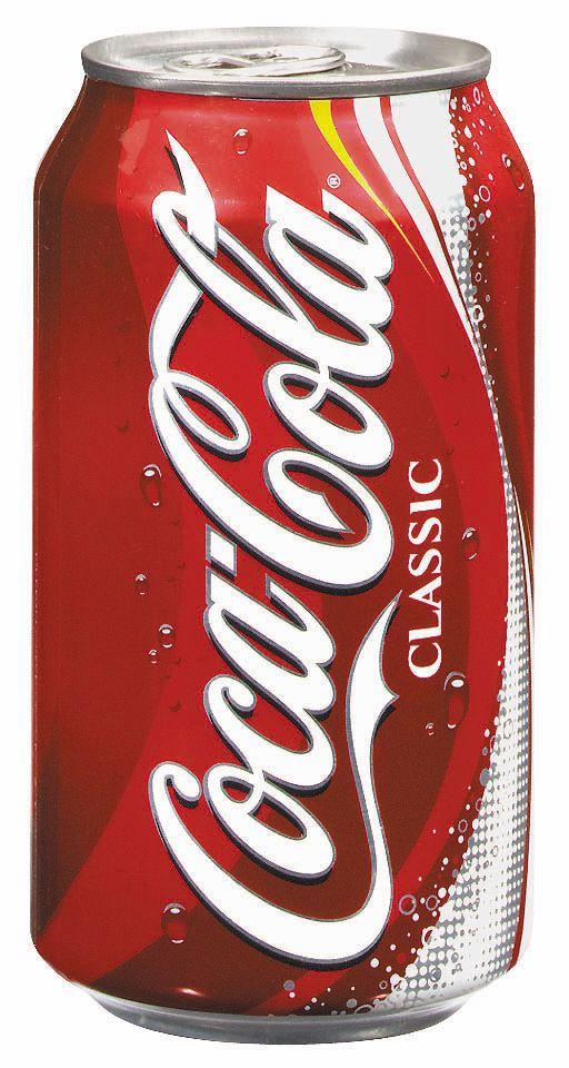 Contemporary Coca Cola Can