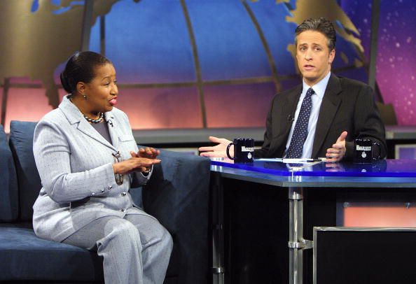 Carol Moseley Braun on The Daily Show with Jon Stewart