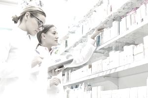 Pharmacists work with a PBM