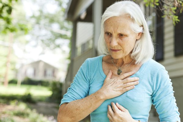 Senior with Chest Pain
