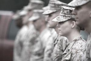 Female Marine Staff Sergeant