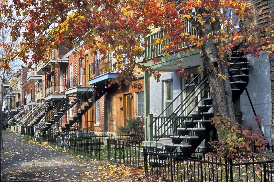 Rue, Parthenais, Montreal, Quebec, Canada