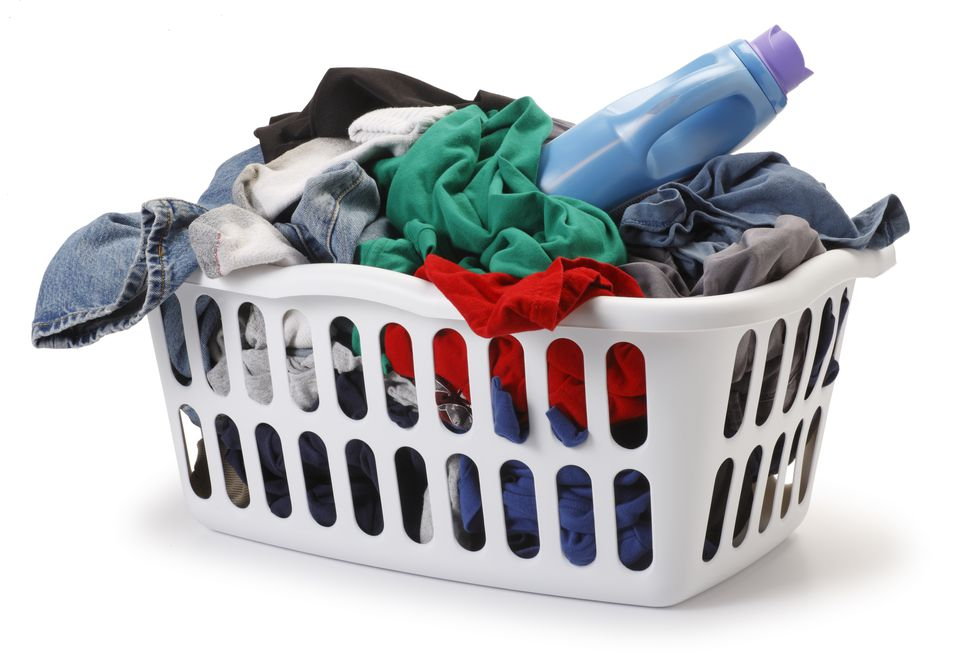 Remove dye transfer stains from clothes and upholstery - Hamper for dirty clothes ...