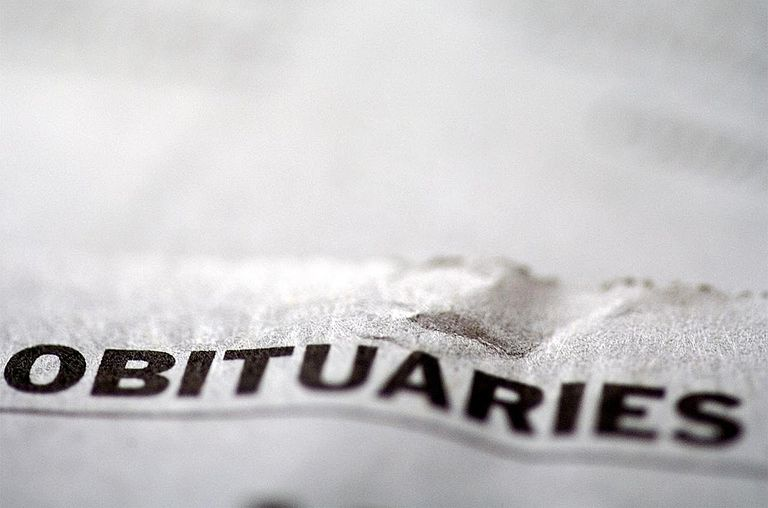 Newspaper focus on 'Obituaries'