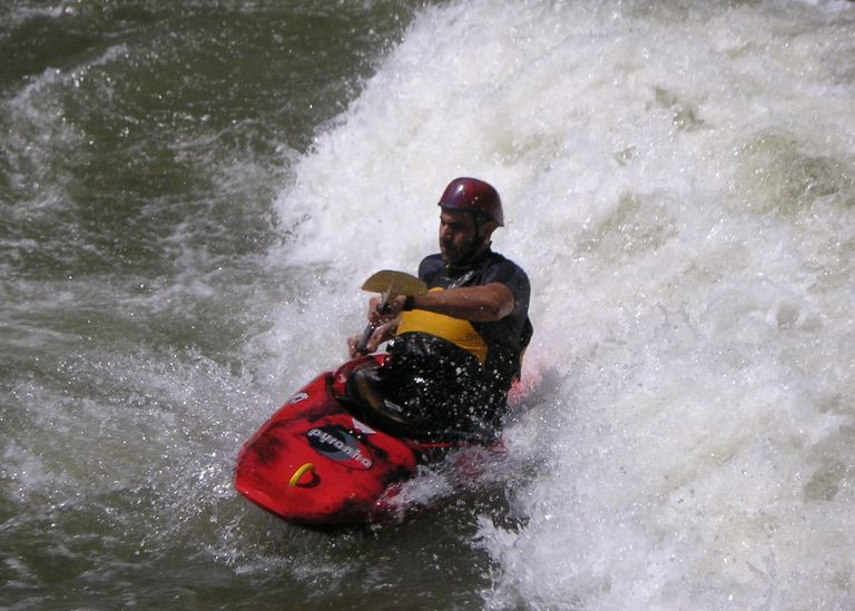 Surfing on the New River Gorge