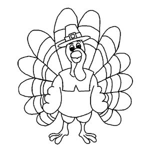turkey coloring pages at free coloring printable - Free Color Pages For Kids