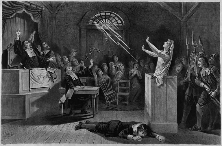 Cultural depiction of witch trials