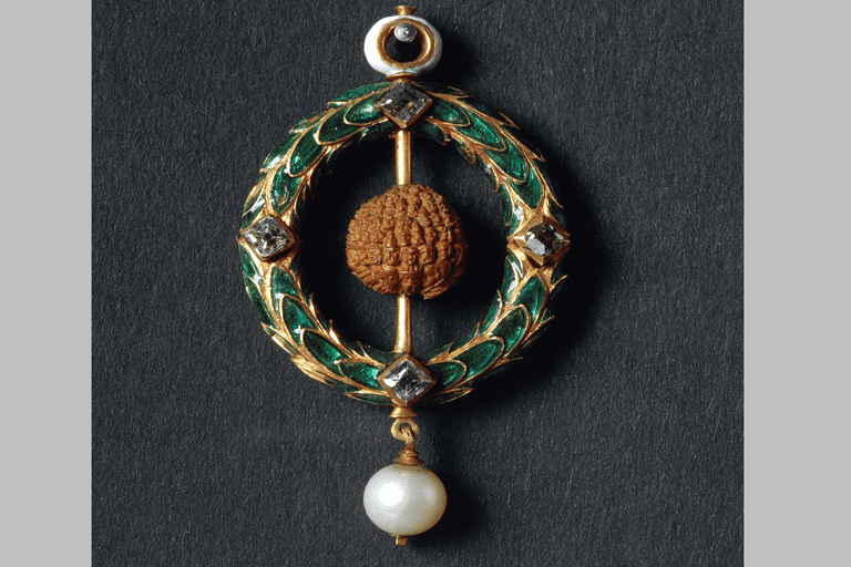Jewel with carved cherry stone, by Properzia de Rossi, 1491-1530