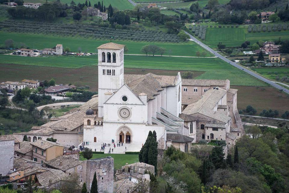 basilica san francesco assisi picture