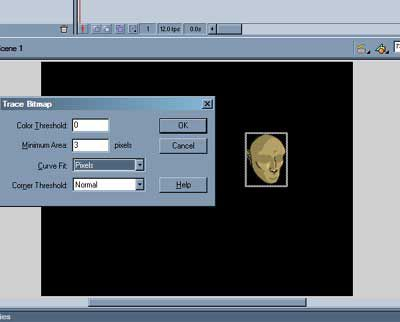 Flash Tip: Trace Bitmap
