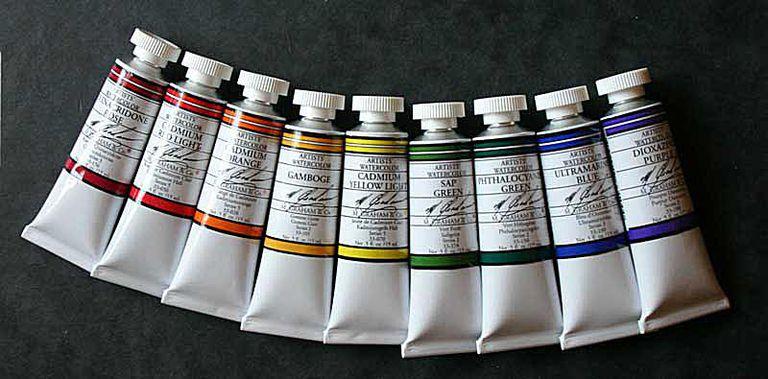 M Graham Watercolor Paints