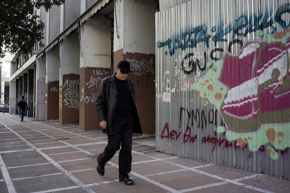 The Homeless On The Streets Of Athens Struggle Due To Greek Economic Woes