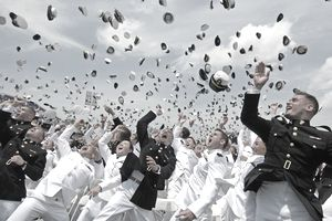 Class of 2011 graduates from US Naval Academy
