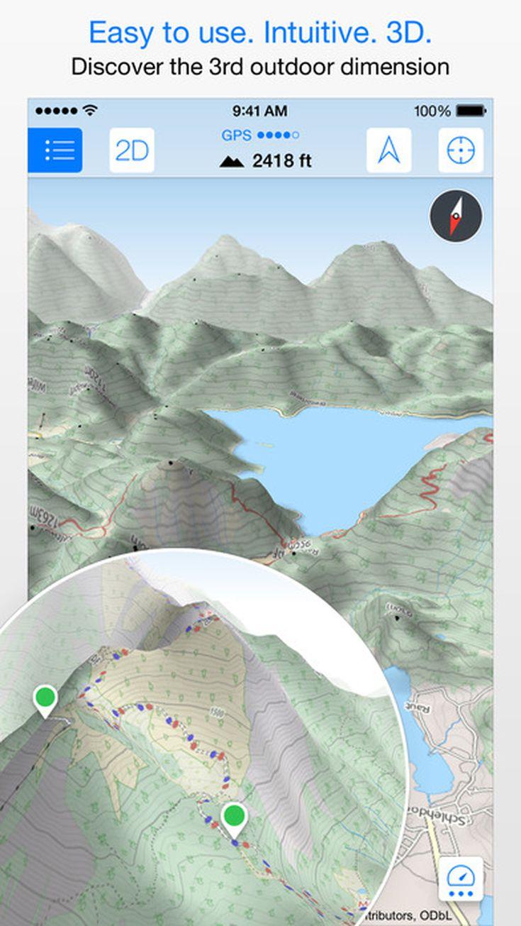 Review Maps D Pro App - Us topo maps pro review