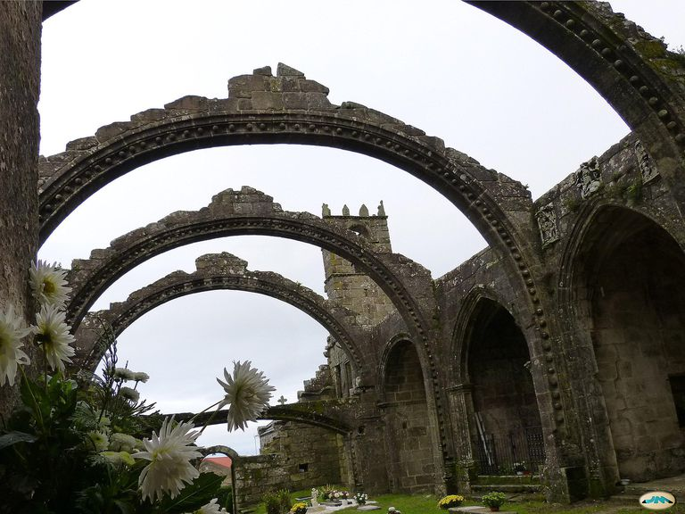Ruins in Cambados, Spain