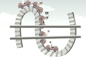 Business cycle rollercoaster